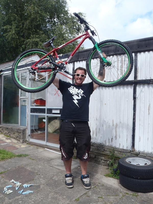 My stolen bike back home