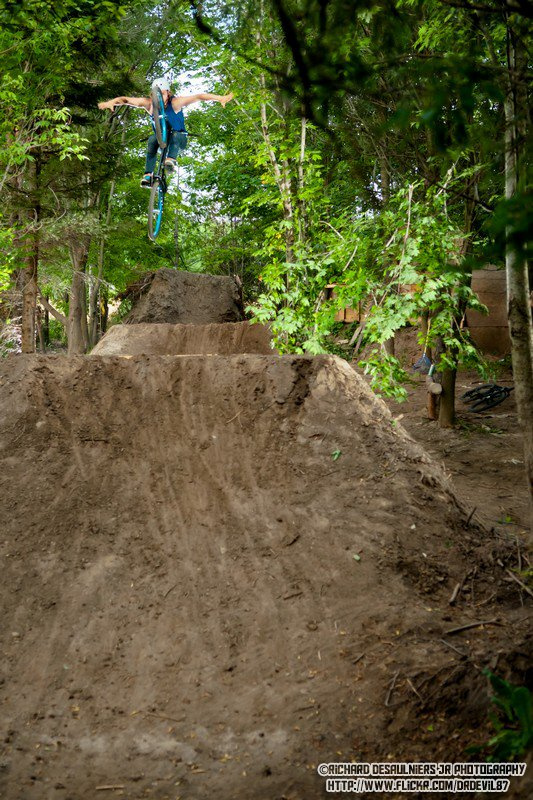Tuck No-Hander - Photo: Richard Desaulniers Jr.
