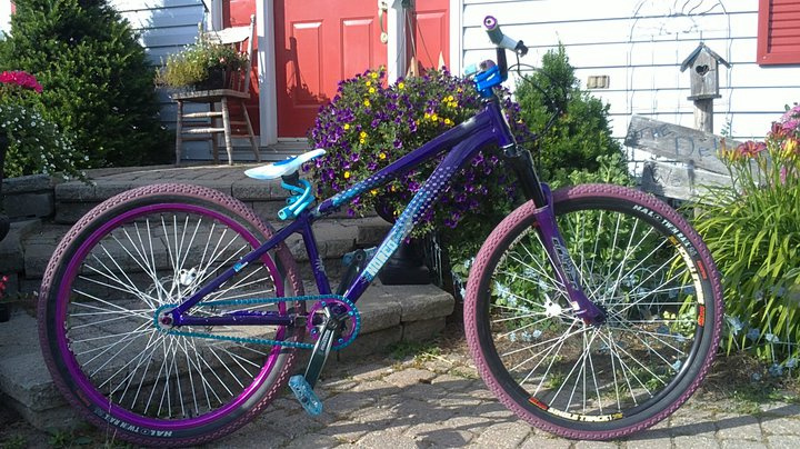My dj bike almost finished only thing left is the matching rim which is on its way