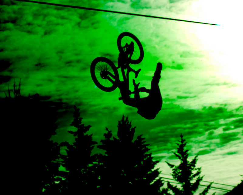 Crankworx 2011 Joyride Finals. This isn t Photoshopped my camera got fried by the sun