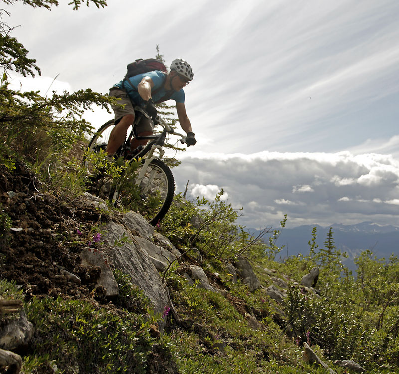 For an article on Pinkbike about riding in the Whitehorse area Yukon. Canada