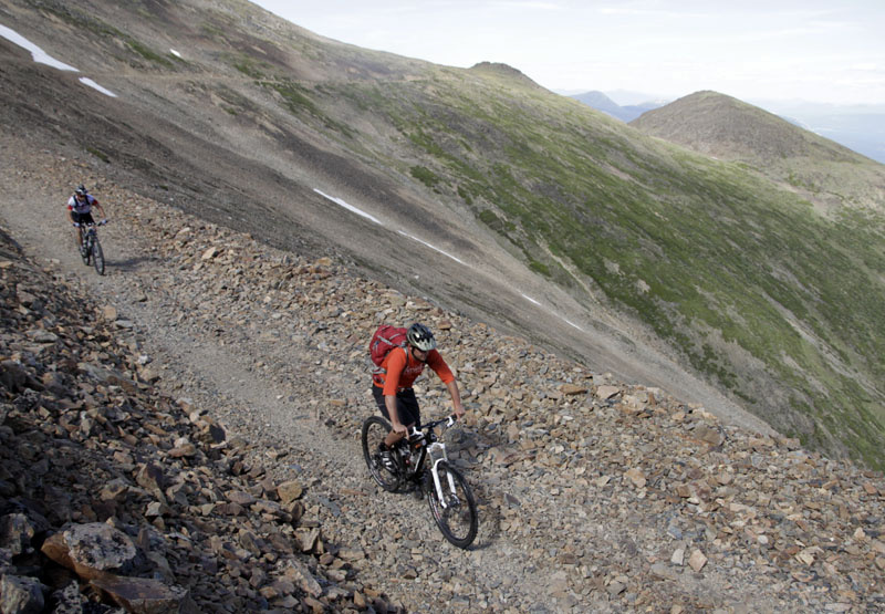 Mountain Hero - Jewel of the Carcross - for an article on Pinkbike