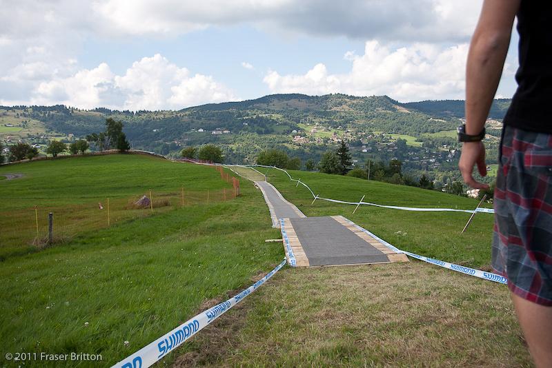 La Bresse World Cup track.