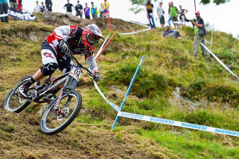 Young guns What young guns. Greg Minnaar is worried about only one thing winning.