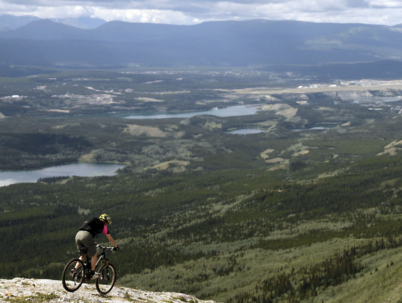 PB Article about riding in Whitehorse