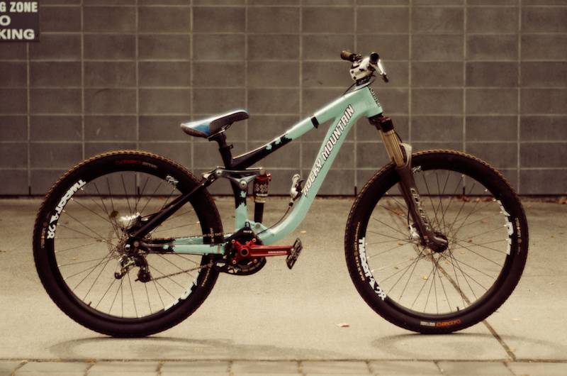 Jarrett Moore S Rocky Mountain Slayer Slopestyle Bike