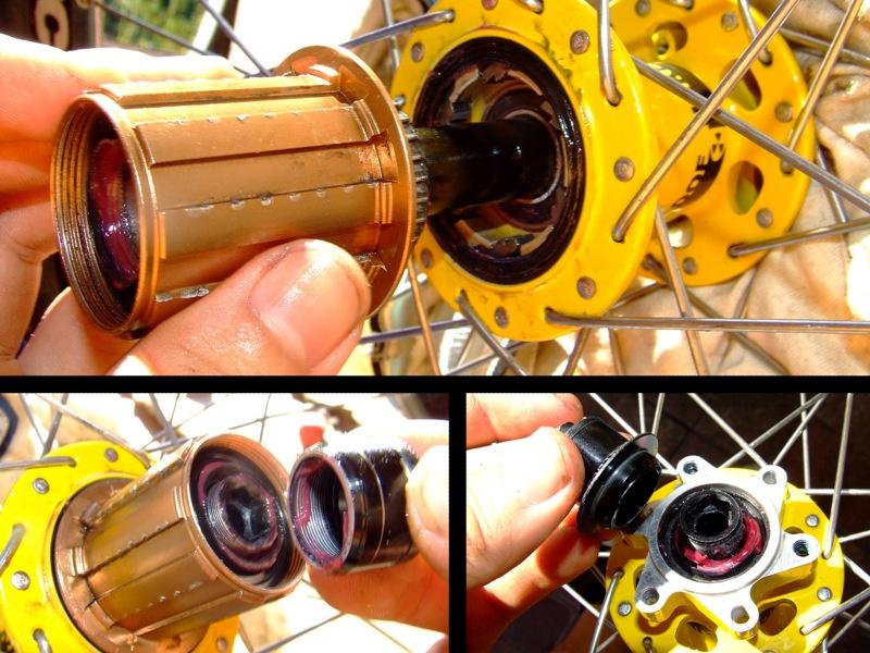 blog use Nukeproof generator rear 135mmQr maintnence