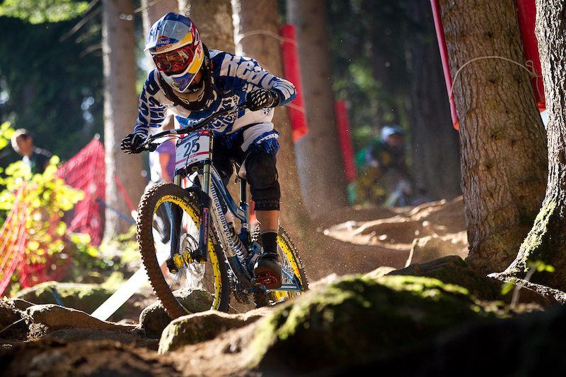 Team CRC Nukeproof racing the Val Di Sole World Cup 2011