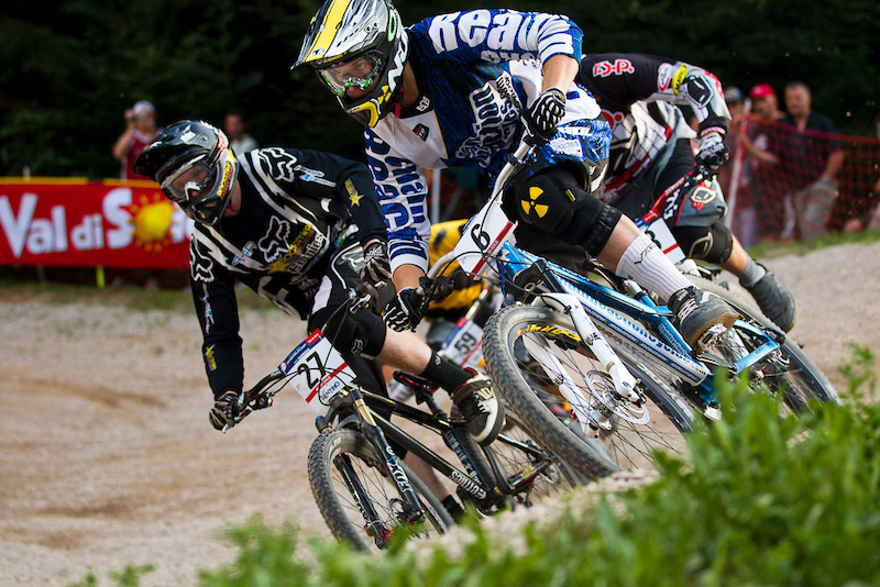 Team CRC at Val Di Sole World Cup