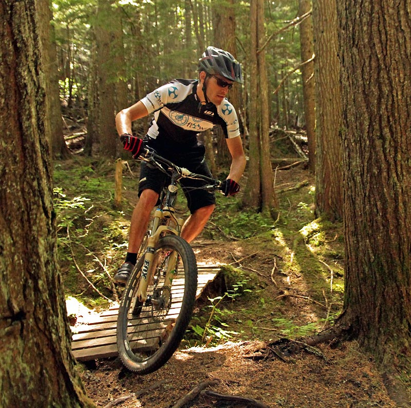 For an article on Pinkbike about AM XC Revelstoke trails and choices