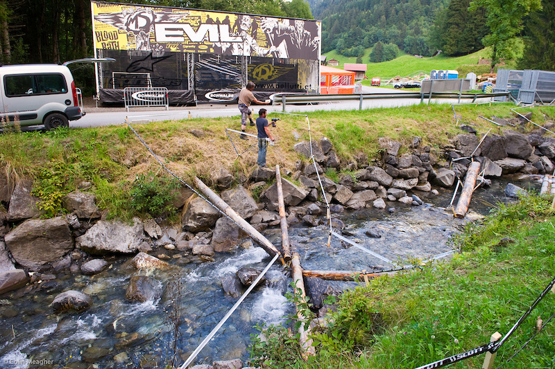 Ahh and lest we forget there will be a Trials World Champ here in Champery too.