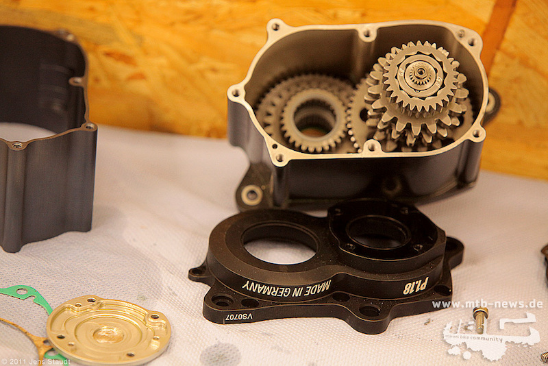 Pinion P1.18 gearbox. Photo by Jens Staudt. www.mtb-news.de