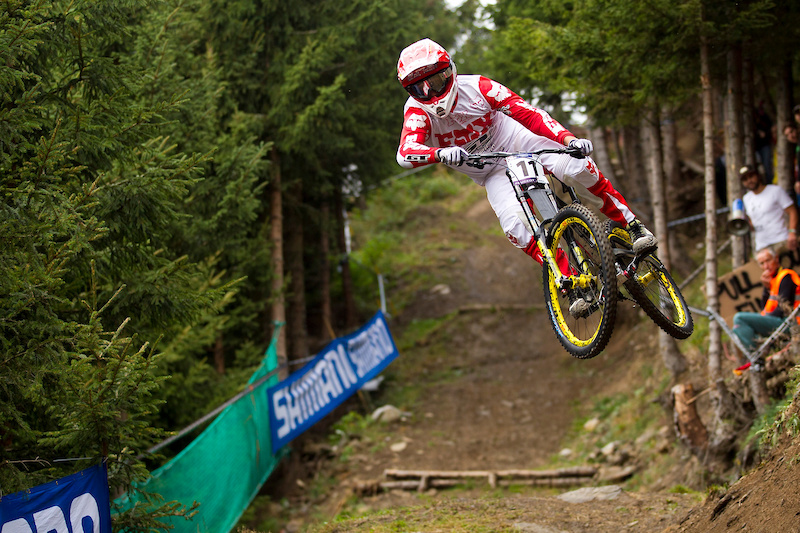 during the 2011 World Championships Champery Switzerland. Photo by Sven Martin