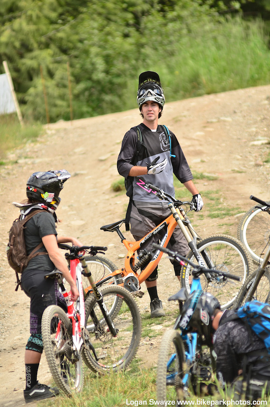 Paul leads a Level 2 instructor certification course at Whistler BC