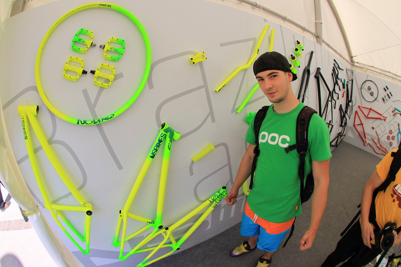 Ludwig Jaeger visited our NS Bikes Trailtoys.de boot at Eurobike 2011 to check our new products and give away some autographs.