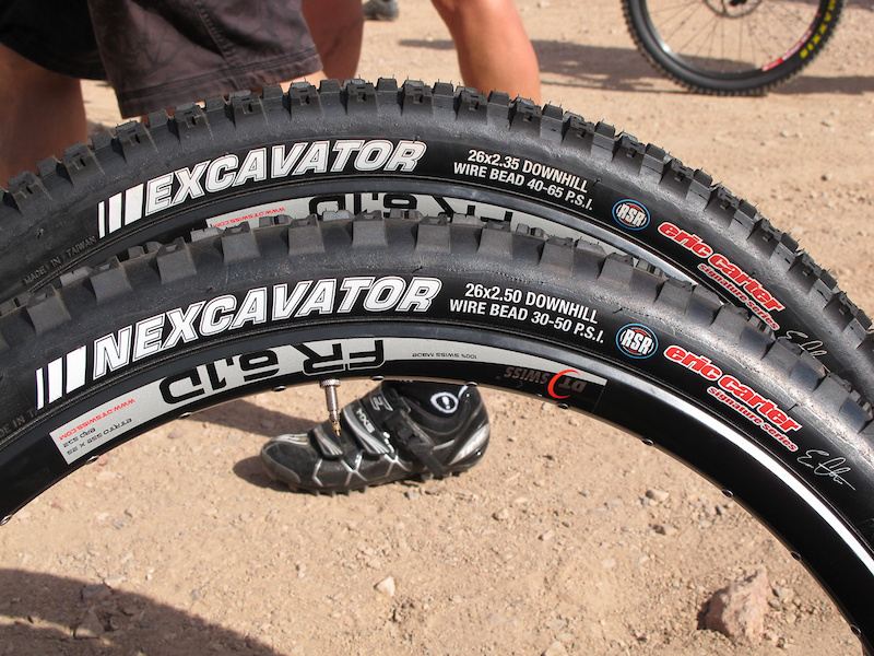 Kenda Nexcavator and Excavator tires.