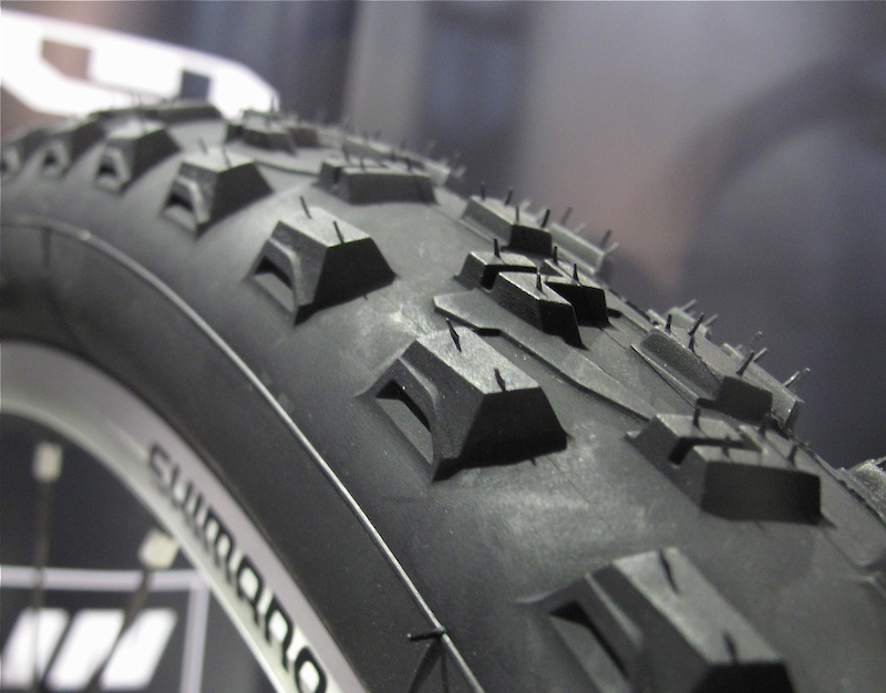 Michelin Wild Grip'r 2 and the Inner tube Reinvented - Interbike 2011 - Pinkbike