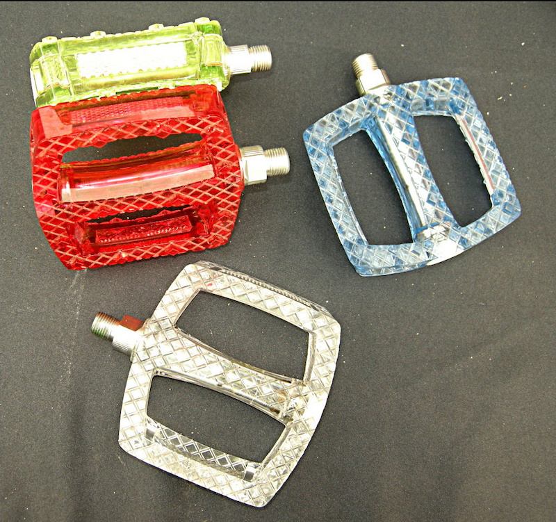 Crystal pedals
