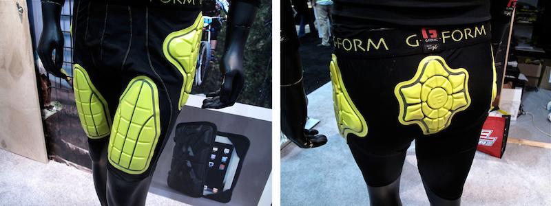 G-Form Padding - Interbike 2011 - Pinkbike