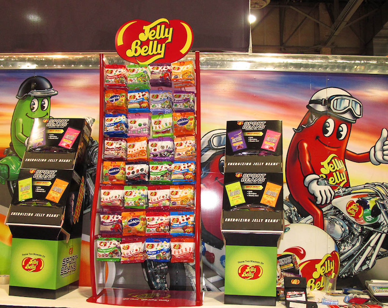 Interbike 2011 picture - Jelly Belly Sport Beans