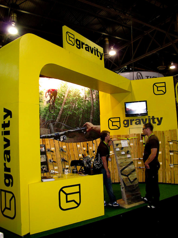 Interbike 2011 picture - Gravity Booth