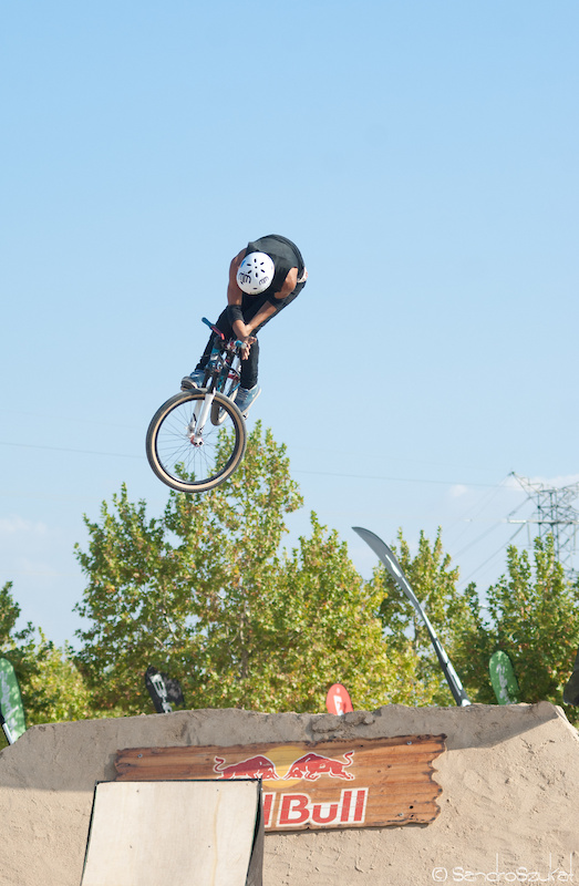 360 Barspin 2 at the dirt competition.