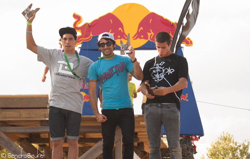 Dirt Jump bmx competition results 1 Robert Sans 2 Sergio Iba ez 3 Ricard Grimal