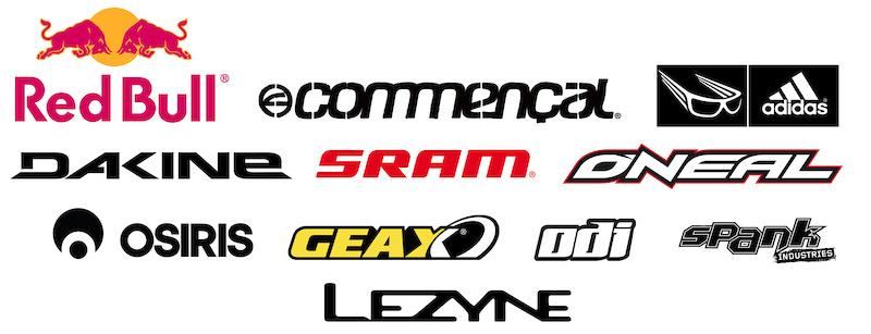 Yannick Granieri 2011 sponsors