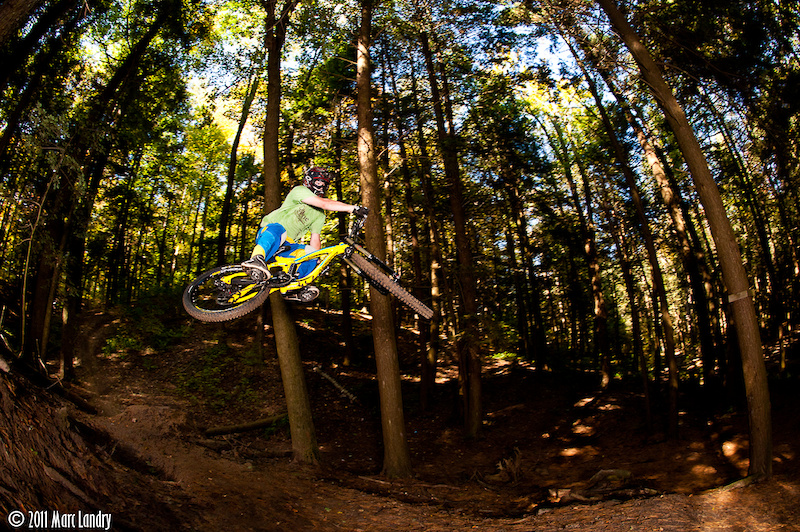 Kevin sending the hip at Big Trees.