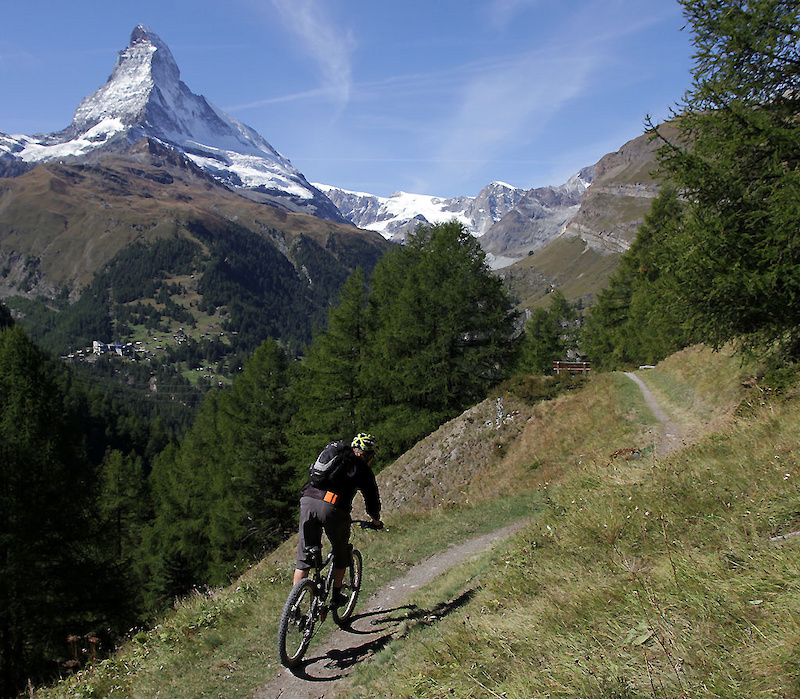 Another trail that offers views of the ubiquitious Matterhorn