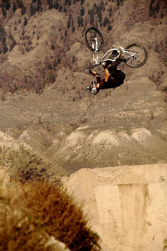 Getting Upside down and sideways! Photo: Matt Miles