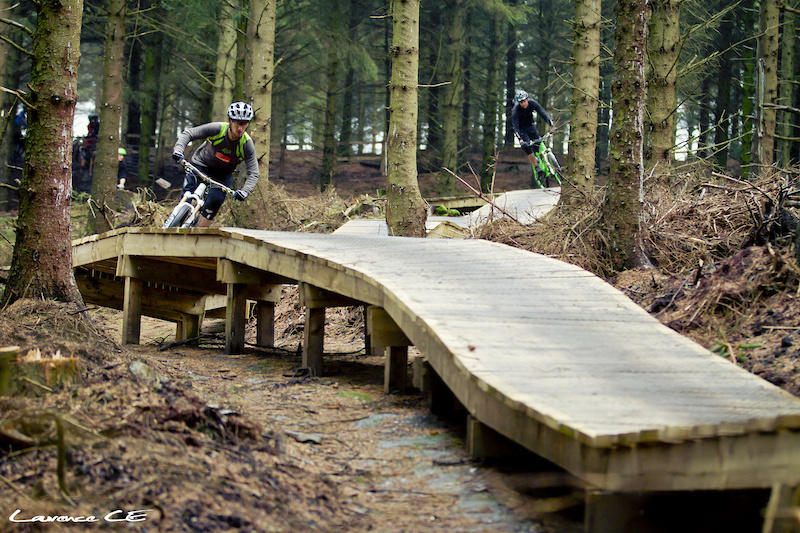 Photo here of Neil Donoghue from a press release we did for opening the new trails at Oneplanet Adventure Llandegla Stoked to finally see them open - Laurence CE - www.laurence-ce.com