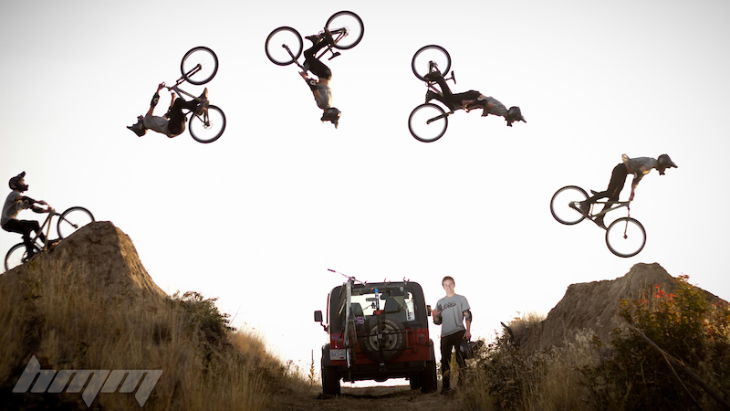 Flipping over the Jeep Preview for an upcoming edit with Tom van Steenbergen and Jeremy Weiss