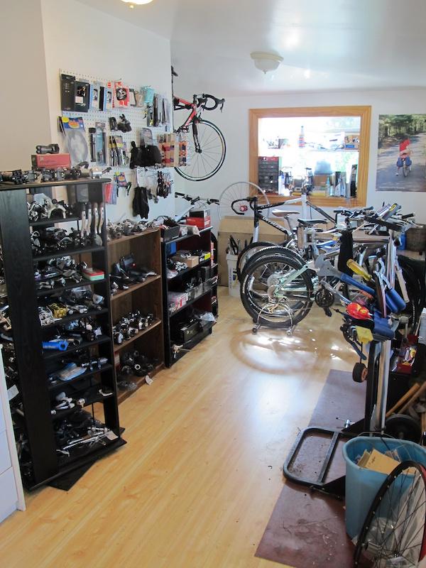 bicycle Shimano SIS SP41 Gear cableset Hi Tech grey NOS