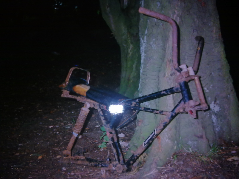 exumed this zombie bike while diggin