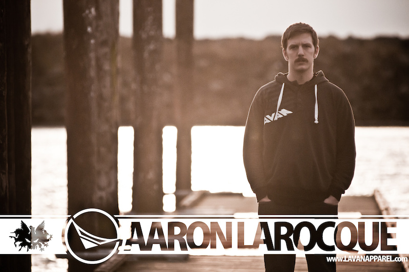 Joining forces... www.LavanApparel.com www.AaronLaRocque.com