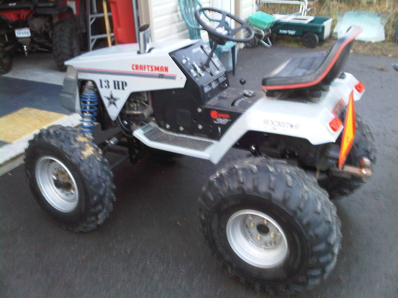 Crazy Lifted Lawn Mower For Sale