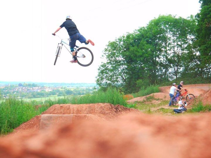 Nac on Jump after Berm