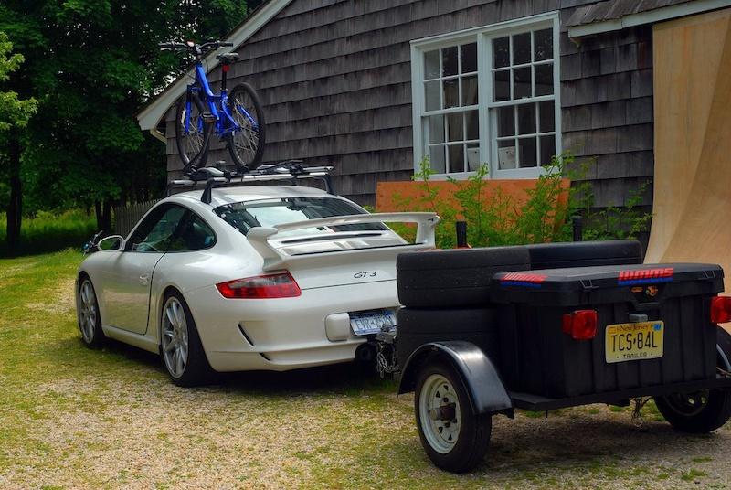 Porsche 997 At Yard In Brooklyn New York United States