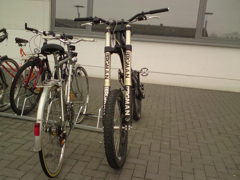 Motorcycle Forks On Mountain Bikes Pinkbike Forum