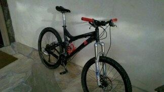 My first real mountain bike, 2008 Specialized Stumpy FSR.