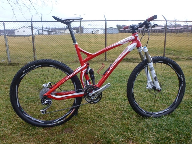 2010 Lapierre X-Control 500 red size large (20in)