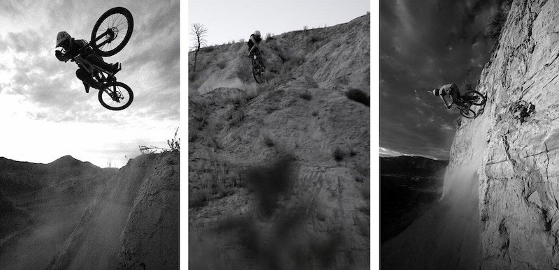 Some older riding shots from my arrival in Kamloops in 2007. Allan Mcvicar Photos.