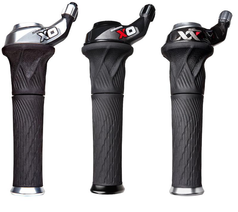 Sram SRT 300i 3 x 7 Speed Shifter Twist Grip Gear Shifter MTB
