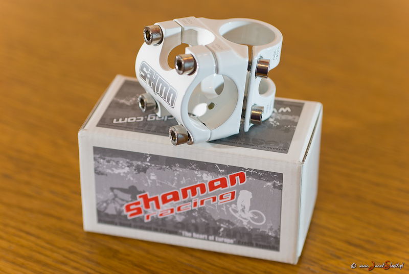 Shaman Block 30 stem for Dartmoor Hornet 2012 project Thank s to Patryk Dawczak amp mtb33.pl