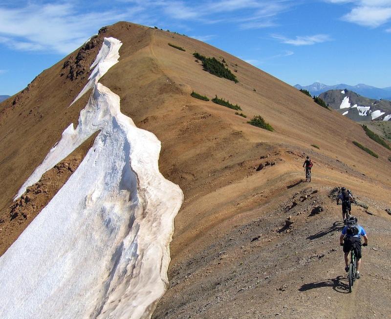Tyax ventures offers miles of alpine.