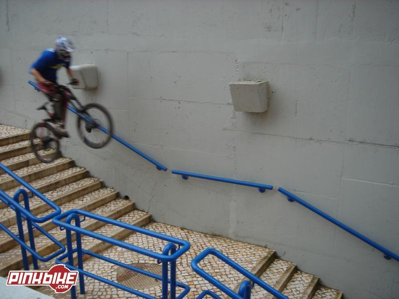 Doing a stair gap