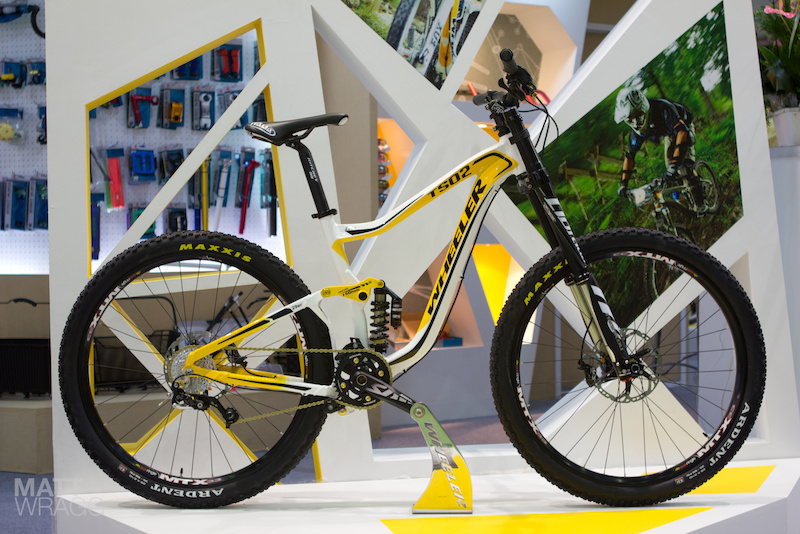 Wheeler TS02 29er DH bike - Taipei Cycle Show 2012