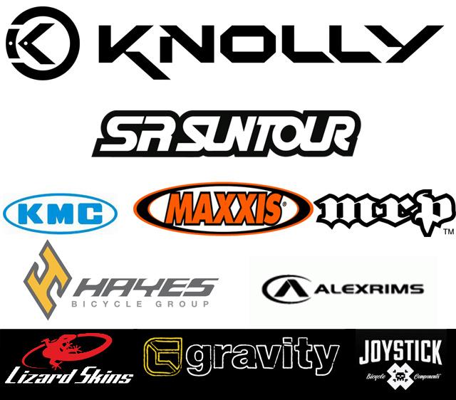 Knolly 2012 Team Sponsors