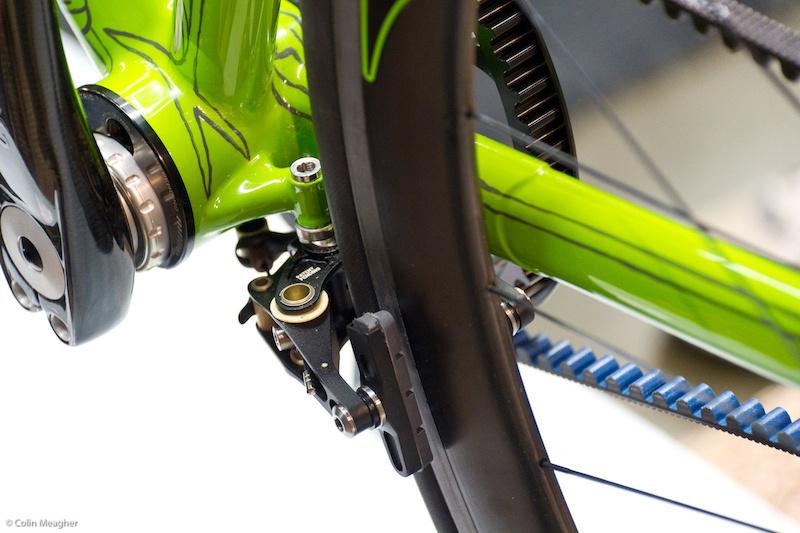 Brake mount detail...